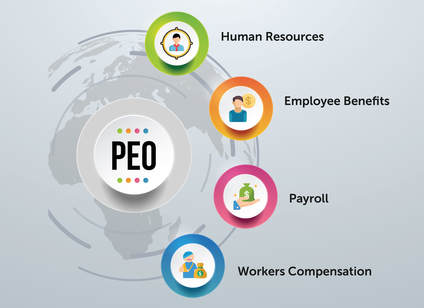 PEO Professional Employer Organization Infographic